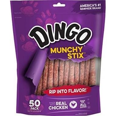 Dingo Munchy Sticks - 50 Palillos Masticables