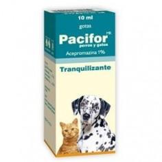 Pacifor. Tranquilizante, Solución oral. 10 ml.